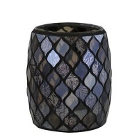 Bronze Moroccan Mosaic Cup Tealight Holder - Big Living